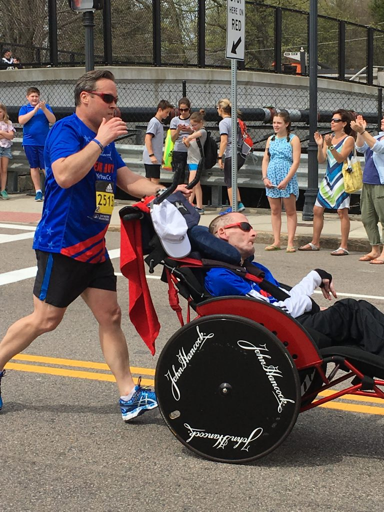 Rick Hoyt Continues to Inspire at the Boston Marathon